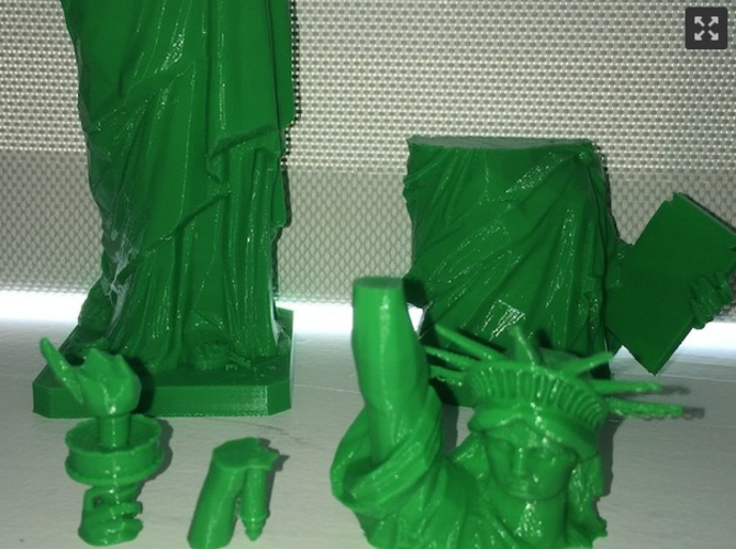 Statue of Liberty - Repaired 3D Print 3653