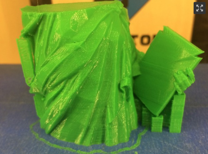 Statue of Liberty - Repaired 3D Print 3654