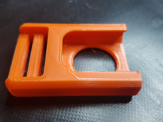 Centre (Center) Release Buckle   3D Print 36582