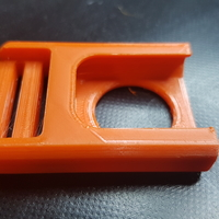Small Centre (Center) Release Buckle   3D Printing 36582