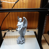 Small Angel Of Death 3D Printing 36966