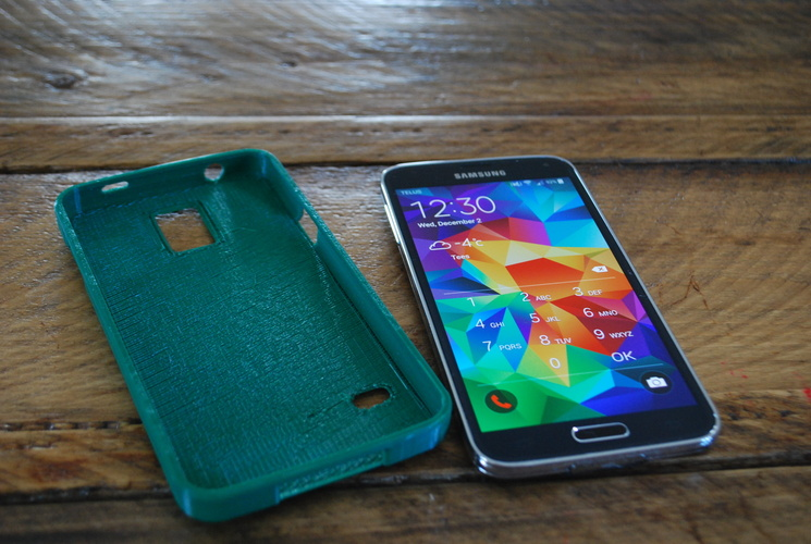 Samsung Galaxy S5 MadeSolid S5 Case 3D Print 3710