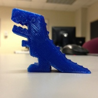 Small Robber Rex 3D Printing 3727