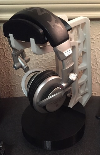 Headphone Stand 3D Print 3825
