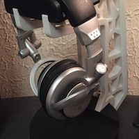 Small Headphone Stand 3D Printing 3825