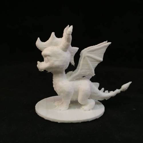 Spyro Action Figure Collector Statue 3D Print 3841