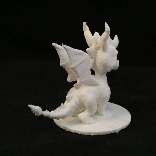 Spyro Action Figure Collector Statue 3D Print 3843