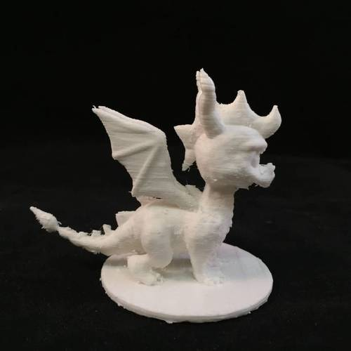 Spyro Action Figure Collector Statue 3D Print 3845