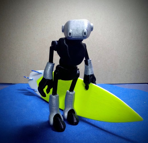 Ankly Robot - 3d Printed Assembled 3D Print 38770