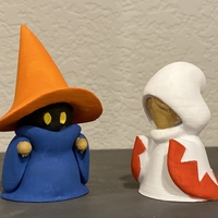 Small Black and White mage 3D Printing 38904