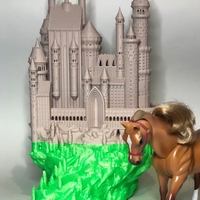 Small Medieval Castle 3D Printing 39145