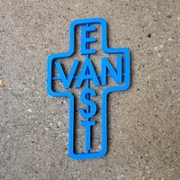 Small East Van Cross 3D Printing 4