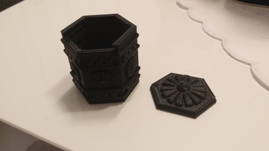 Amsterdam Green-box 3D Print 4091