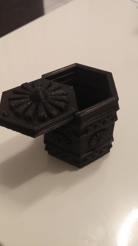 Amsterdam Green-box 3D Print 4092
