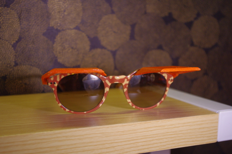 Sun Shades - Clip on Shades for Sunglasses 3D Print 4252