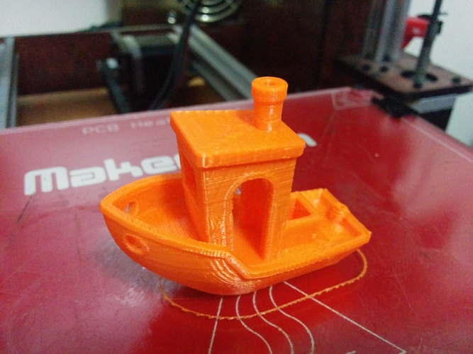 #3DBenchy - The jolly 3D printing torture-test 3D Print 427