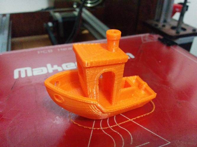 #3DBenchy - The jolly 3D printing torture-test 3D Print 428