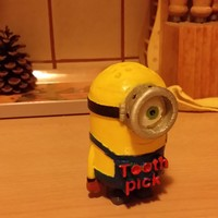 Small Minion Toothpick 3D Printing 4282