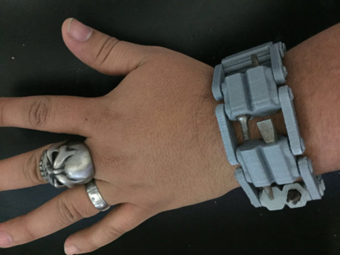 3D Printed Tool WristBand 3D Print 430