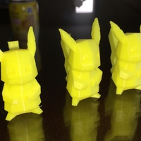 Small Low Poly Pokemon  3D Printing 431