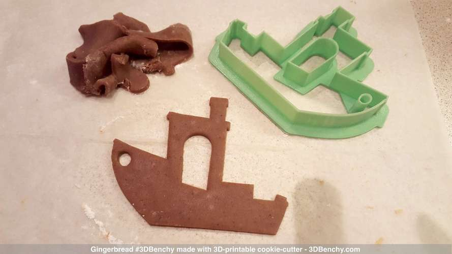#3DBenchy Cookie-Cutter 3D Print 4322