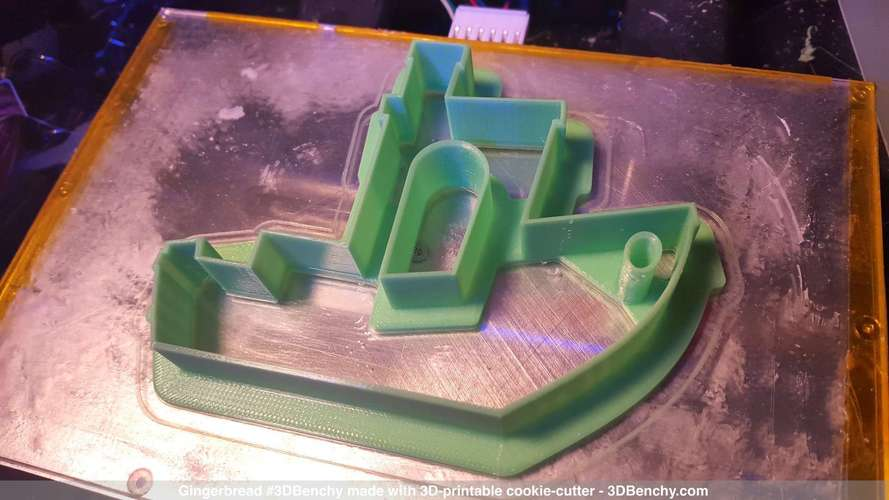 #3DBenchy Cookie-Cutter 3D Print 4326