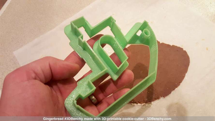 #3DBenchy Cookie-Cutter 3D Print 4327