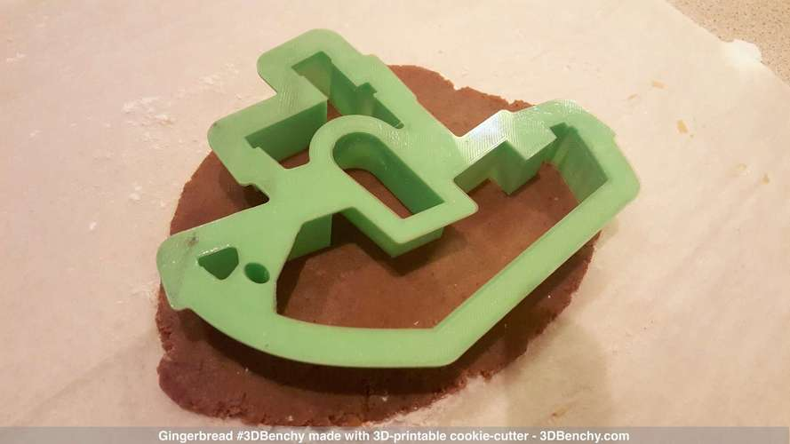 #3DBenchy Cookie-Cutter 3D Print 4328