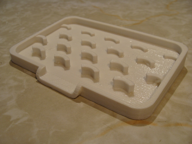Dripping Soap Holder Dish 3D Print 4334