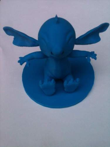 Stitch Action Figure Statue  3D Print 4398