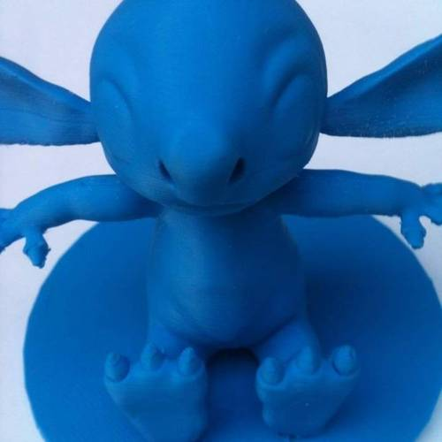 Stitch Action Figure Statue  3D Print 4400