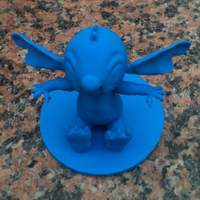 Small Stitch Action Figure Statue  3D Printing 4403