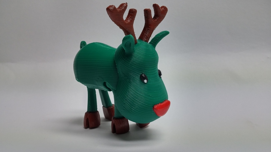 Articulated Christmas Toys 3D Print 4425