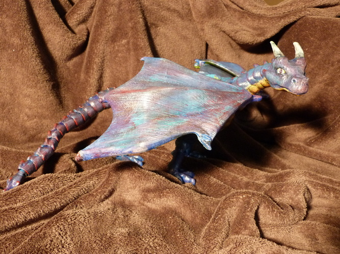 """Braq""  jointed dragon 3D Print 4462"
