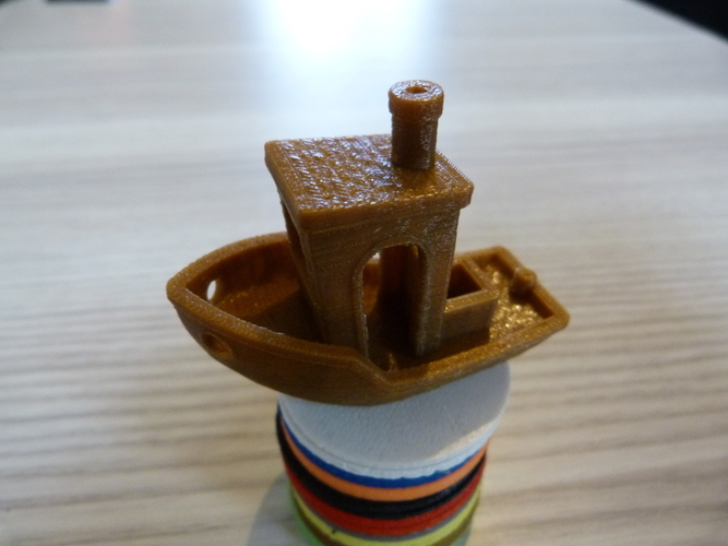 #3DBenchy - The jolly 3D printing torture-test 3D Print 4463