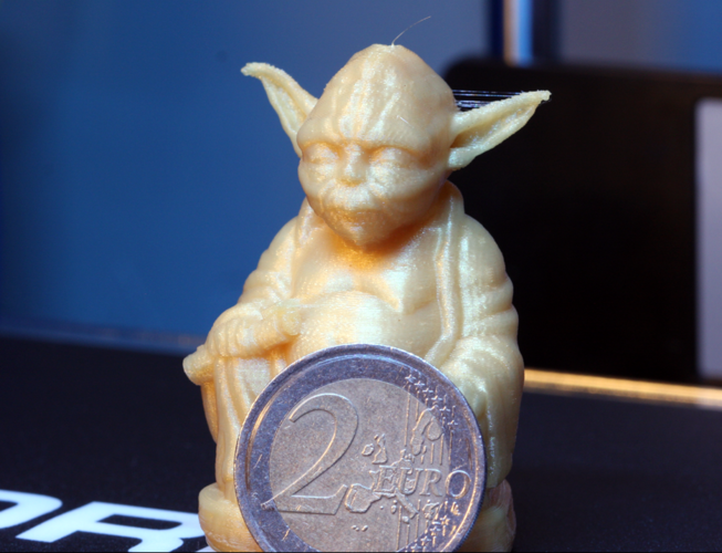 Improved Yoda Buddha w/ Lightsaber  3D Print 4474