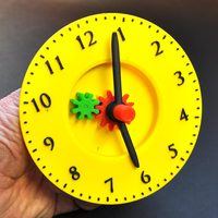 Small Teach a child to tell the time 3D Printing 4494