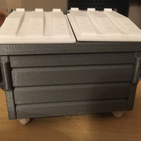 Small Dumpster 3D Printing 4540