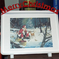 Small Alternative Christmas Card/Frame 3D Printing 4574