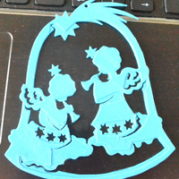Small Angels in Bell 3D Printing 4643