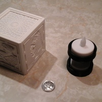 Small [PICtart] Lightcube with Lithophane Paintings 3D Printing 4680