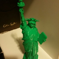 Small Statue of Liberty - Repaired 3D Printing 4734