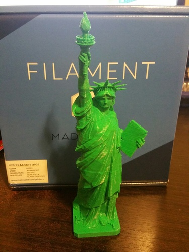 Statue of Liberty - Repaired 3D Print 4735
