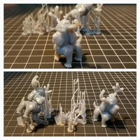 Small Reindog Ornament 3D Printing 4736