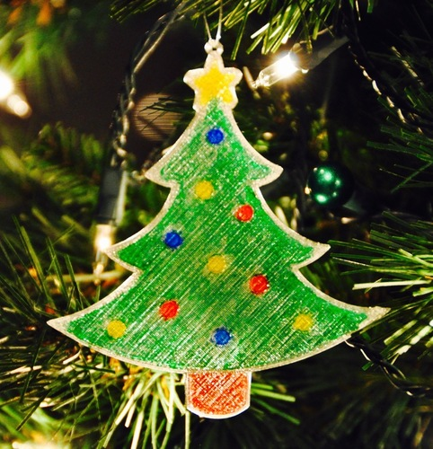 Christmas Ornaments for Kids to Paint 3D Print 4855