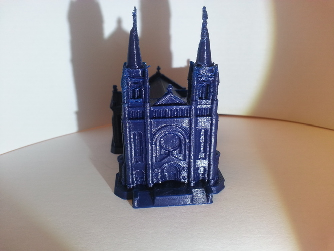 Sioux Falls Cathedral, South Dakota 3D Print 4875