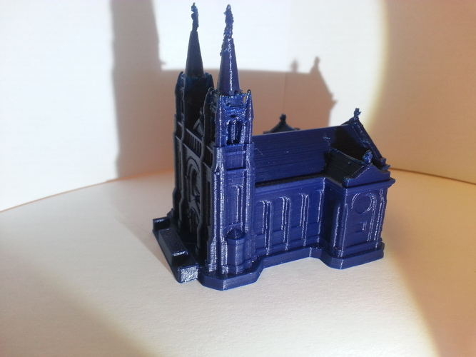 Sioux Falls Cathedral, South Dakota 3D Print 4876