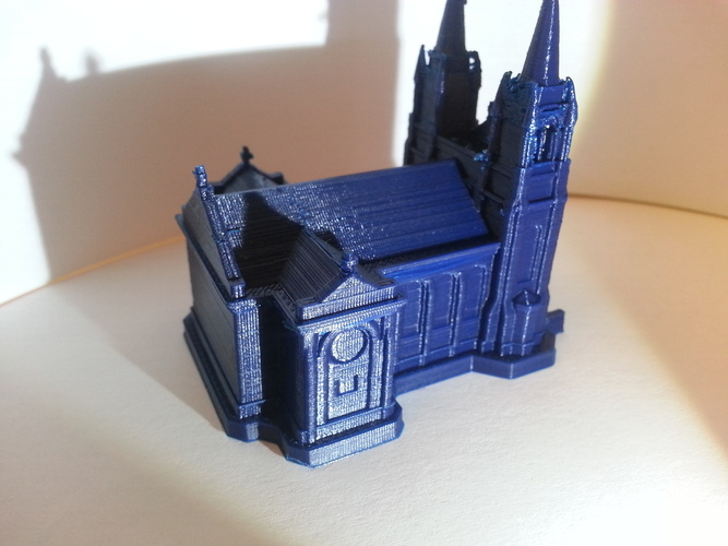 Sioux Falls Cathedral, South Dakota 3D Print 4877