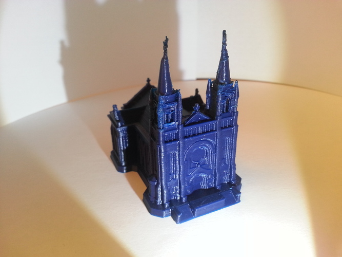 Sioux Falls Cathedral, South Dakota 3D Print 4878