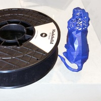 Small Roaring Lion 3D Printing 4916